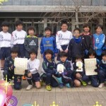 U-10世田谷リーグ、前期・後期優勝!